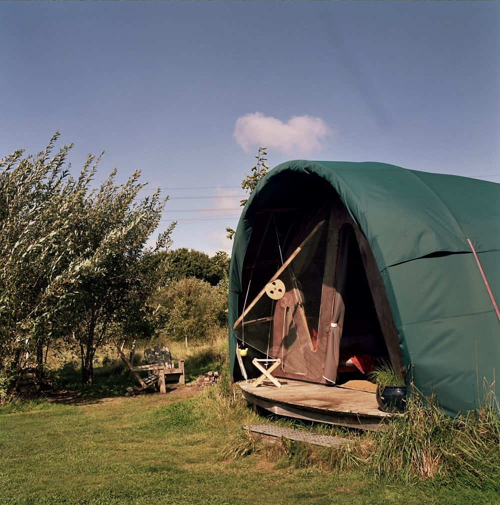 Glamping structures in sussex
