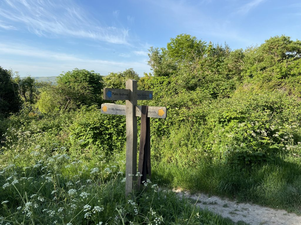The South Downs Way near Brighton